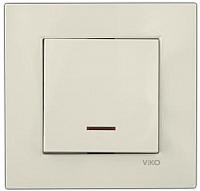 Выключатель Viko Karre / 90960119 (кремовый) -