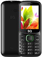 Мобильный телефон BQ Step L+ BQ-2440 (черный/зеленый) -