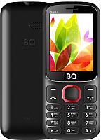 Мобильный телефон BQ Step L+ BQ-2440 (черный/красный) -