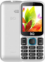 Мобильный телефон BQ Step L+ BQ-2440 (белый/голубой) -