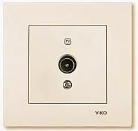 Розетка Viko Karre / 90960110 (кремовый) -