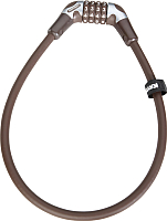 Велозамок Kryptonite Cables KryptoFlex 1265 Combo Cable (коричневый) -