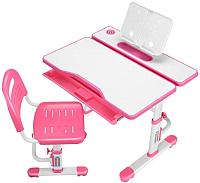 Парта+стул Cubby Botero (розовый) -
