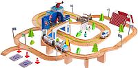 Железная дорога детская Sima-Land Транспортная развязка с мостом и аркой / 1858847 -