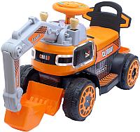 Детский автомобиль Sima-Land Экскаватор / 4363493 (оранжевый) -