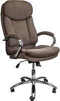 Кресло офисное Седия Leonardo Eco (ткань коричневый) -