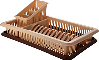 Сушилка для посуды Plastic Republic Лилия ПЦ1562 -