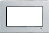 Рамка для выключателя Viko Novella 93190609 (серебристый) -
