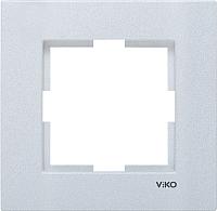 Рамка для выключателя Viko Novella 92190601 (серебристый) -