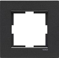 Рамка для выключателя Viko Novella 92190641 (дымчатый) -