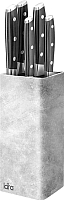 Подставка для ножей Lara R05-102 (серый) -