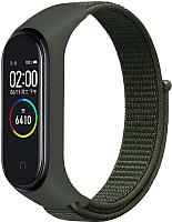 Ремешок для умных часов Evolution XMB34-N01 для Mi Band 3/4 (зеленый) -