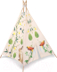 Детский вигвам Happy Baby Humpy в комплекте со светильником на шнурке (Forest) -