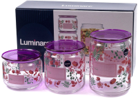 Набор емкостей для хранения Luminarc Irises P9216 -