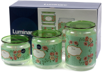 Набор емкостей для хранения Luminarc Mint Green P9215 -