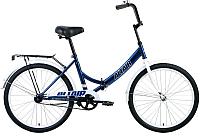 Велосипед Forward Altair City 24 / RBKT0YN41002 (темно-синий/серый) -