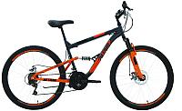 Велосипед Forward Altair MTB FS 2.0 Disc 26 2020 / RBKT0SN6P016 (16, серый/оранжевый) -