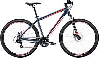 Велосипед Forward Apache 29 2.0 Disc 2020 / RBKW0M69Q026 (21, серый/красный) -