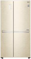 Холодильник с морозильником LG GC-B247SEDC -