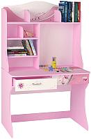 Письменный стол ABC-King Princess / PR-1018-R (розовый) -