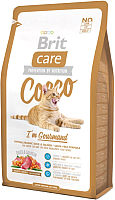 Корм для кошек Brit Care Cat Cocco I'm Gourmand / 132628 (2кг) -