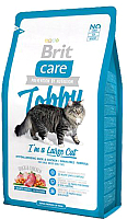 Корм для кошек Brit Care Cat Tobby I'm a Large Cat / 512997 (2кг) -