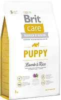 Корм для собак Brit Care Puppy All Breed Lamb & Rice / 132701 (3кг) -