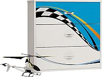 Комод ABC-King La-Man / LM-1012-B (голубой) -