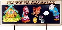 Кукольный театр Нескучные игры Сказки на магнита. Курочка Ряба / К-0543/6 -