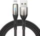 Кабель Baseus Horizontal USB - Lightning / CALSP-B01 (1м, черный) -