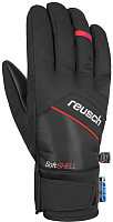 Перчатки лыжные Reusch Luke R-Tex XT 4801251 705 (р-р 9, Black/Fire Red Inch) -