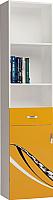 Шкаф-пенал ABC-King Formula левый / FO-1013-L-O (оранжевый) -