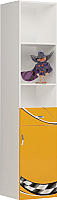 Шкаф-пенал ABC-King Formula правый / FO-1013-R-O (оранжевый) -
