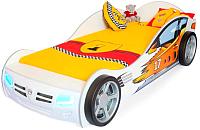 Стилизованная кровать детская ABC-King Champion / CH-1000-160-W (белый) -