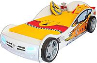 Стилизованная кровать детская ABC-King Champion / CH-1000-190-W (белый) -