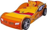 Стилизованная кровать детская ABC-King Champion / CH-1000-190-O (оранжевый) -