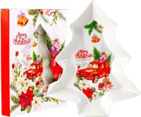 Блюдо ZPX Collection Рождественский вояж / ZPX18457 -