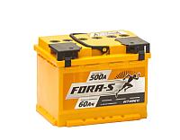 Автомобильный аккумулятор Fora-S L+ (60 А/ч) -