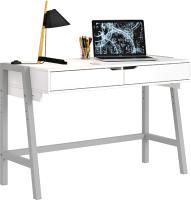 Письменный стол Polini Kids Mirum 1440 (белый/серый) -