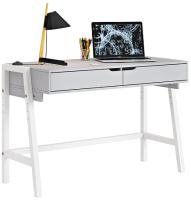 Письменный стол Polini Kids Mirum 1440 (серый/белый) -