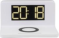 Зарядное устройство беспроводное Evolution QWC-101 (3в1, белый) -