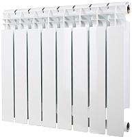 Радиатор биметаллический Halsen BS 500x100 (4 секции) -