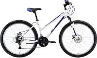 Велосипед Black One Alta 26 D 2020 (16, белый/фиолетовый/серый) -