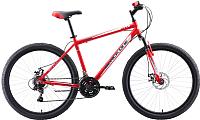 Велосипед Black One Onix 26 D Alloy 2020 (18, красный/серый/белый) -