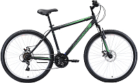 Велосипед Black One Onix 26 D 2020 (16, черный/серый/зеленый) -