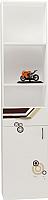 Шкаф-пенал ABC-King Extreme левый / EX-1013/L (белый) -