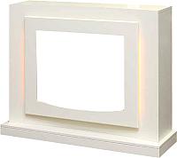 Портал для камина Смолком Lucca FS25 (белый/ваниль) -