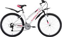 Велосипед STARK Luna 26.1 V 2020 (14.5, белый/розовый/серый) -