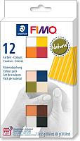 Полимерная глина Fimo Soft Natural Colours 8023 C12-4 (12x25г) -