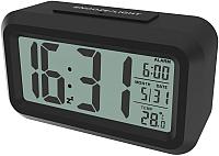 Настольные часы Ritmix CAT-100 (черный) -